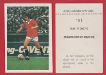 Manchester United Ian Storey Moore England